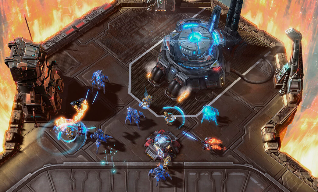 starcraft 2 legacy of the void юниты
