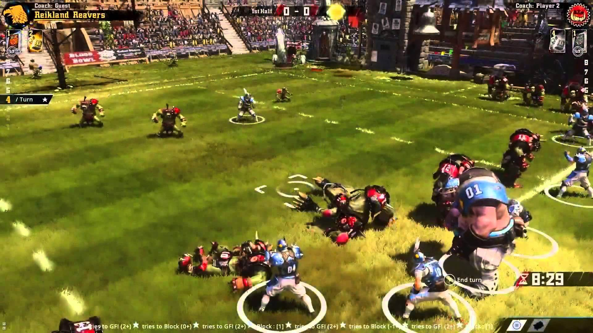 Blood Bowl 2 — Графика